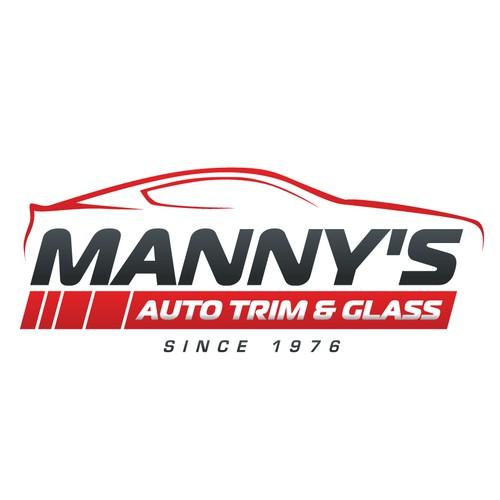 logo for MANNY'S AUTO TRIM & GLASS