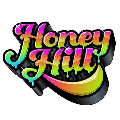 Honey Hill logo design