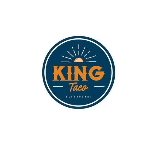 Logo concept for King Taco