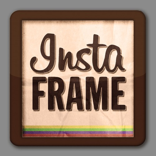 Help Instaframe with a new logo