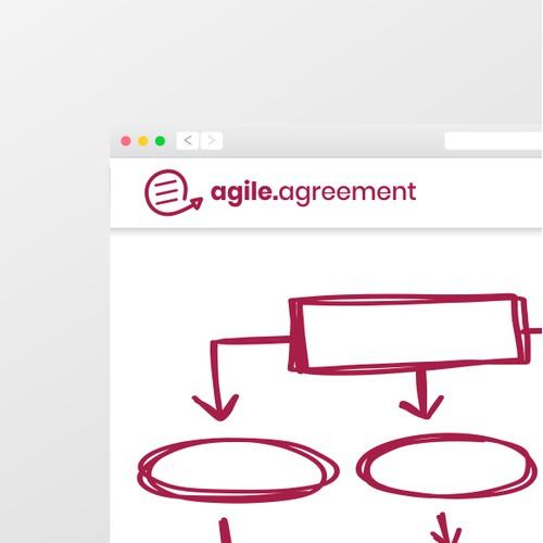 Logo concept for AGILE framework