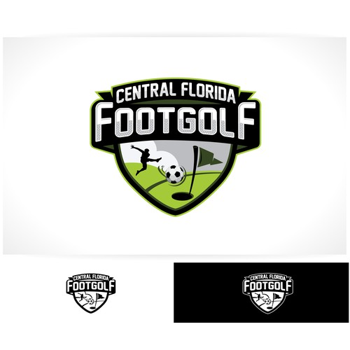 FootGolf Logo Design