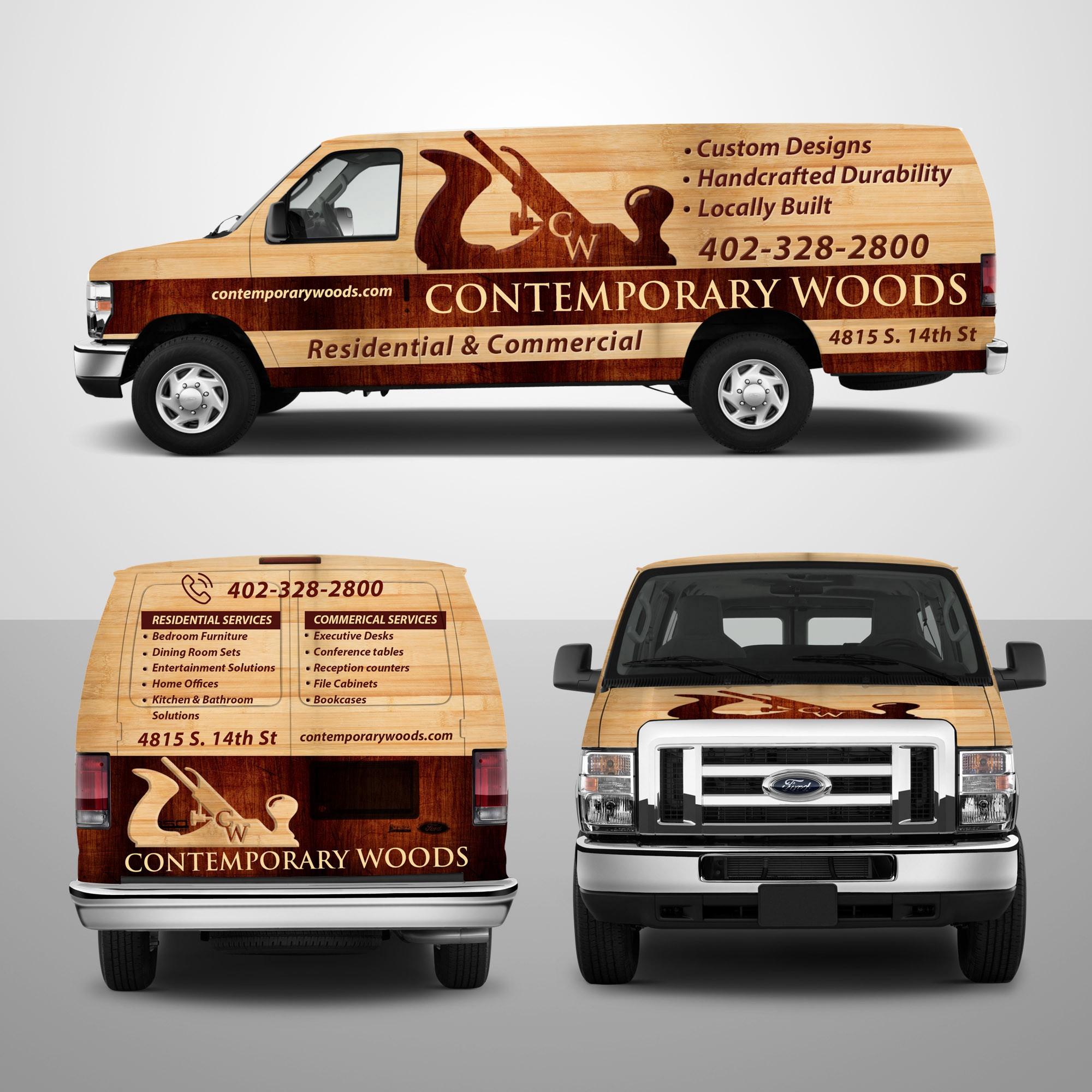 Custom Wood Working Company needs VAN WRAP!