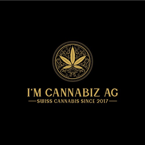 Cannabis logo for Swiss company