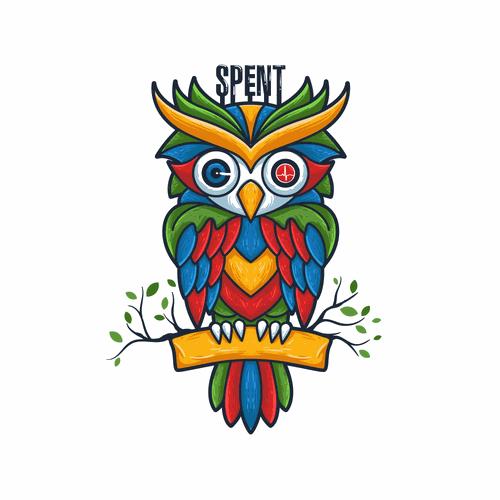 OWL illustration for Spent