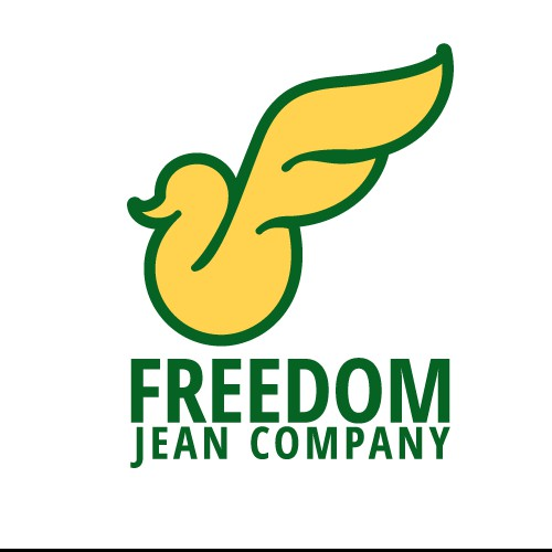 freedom logo for jean company