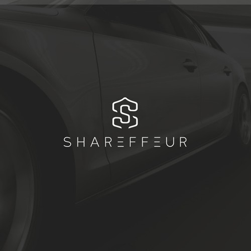 Logo for emerging luxury ride-sharing company.