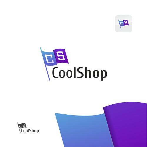 Cool shop logo