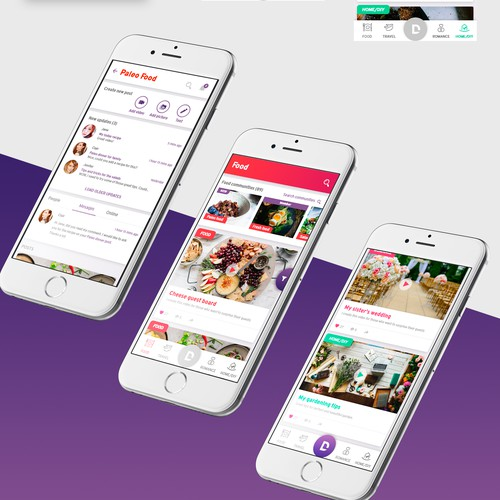 Lifestyle video app for women