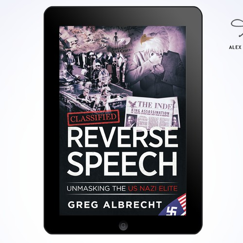 "Full Cover Design for GREG ALBRECHT's ""REVERSE SPEECH"""