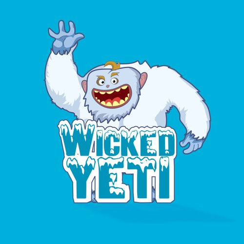 "Funny & Sarcastic New logo for ""Wicked Yeti""-Get 'Edgy' Today"