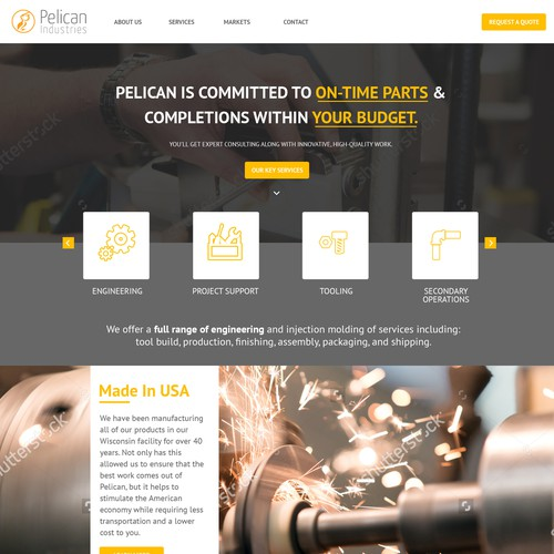 Design for Industrial Website