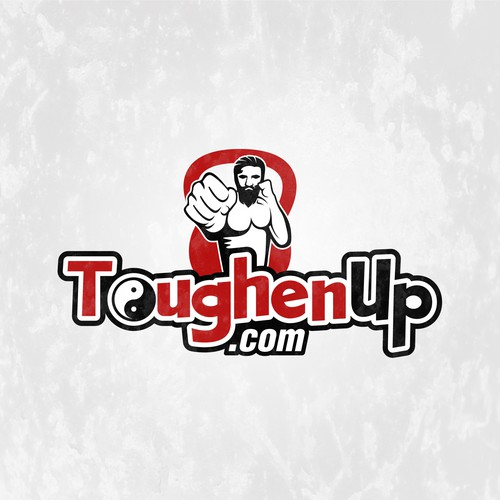 Powerful and attention-grabbing logo for ToughenUp.com