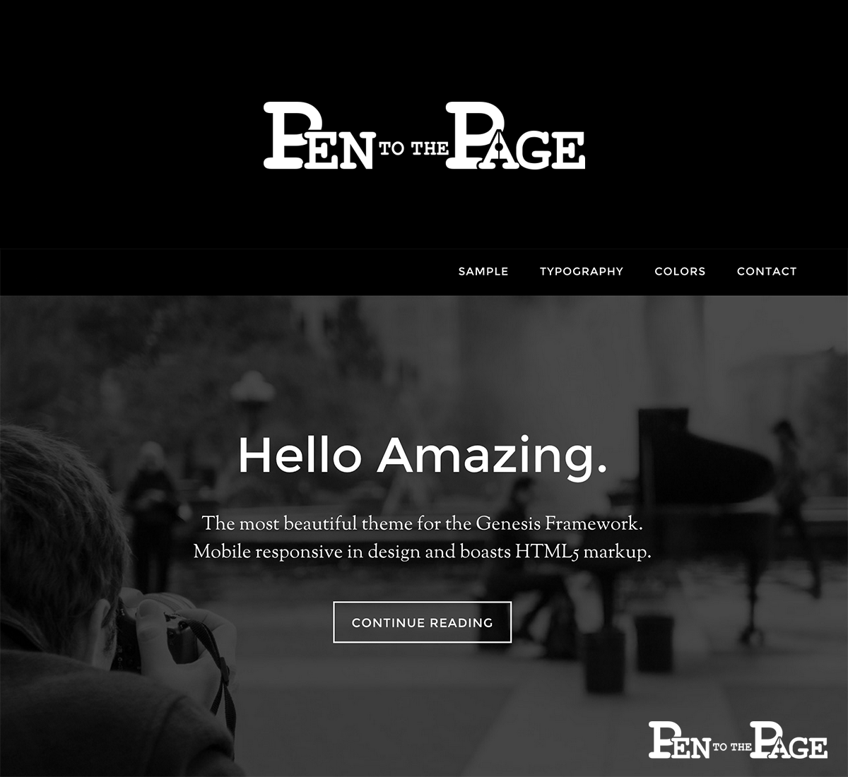 Create a logo for an up and coming creative writing website