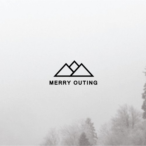 simple logo for merry outing