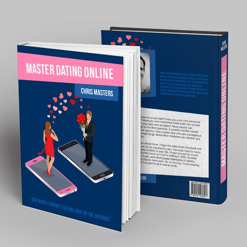Master Dating Online book cover design
