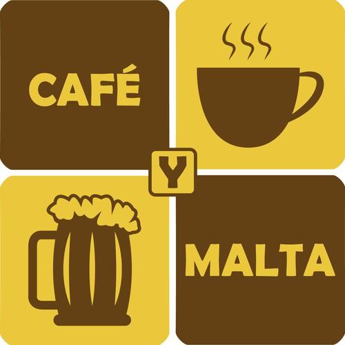 Logo para local Café y malta