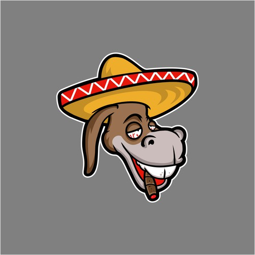 logo for CHURRO BURRO