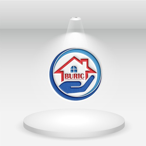 Redesign Buric cleaning logo