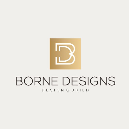 Design a new logo for borne designs--a construction/design co