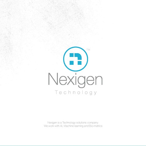 Technology Edgy Logotype
