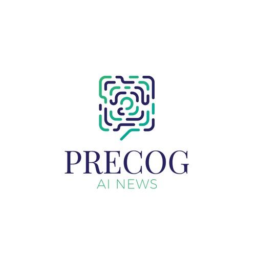 Logo for AI news software