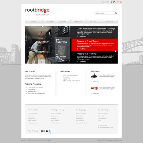 Website Design for Rootbridge