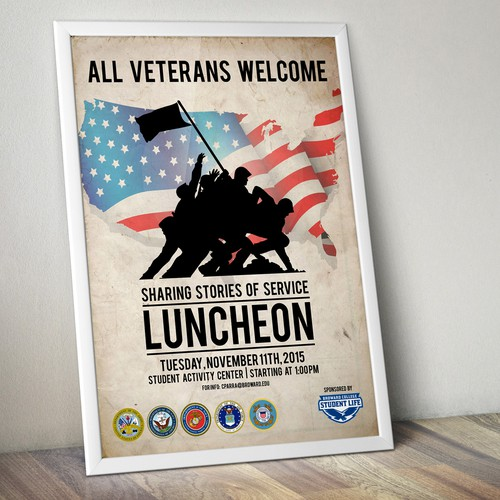 Broward College South - Veterans Poster