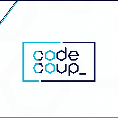 Logo design for a coding school
