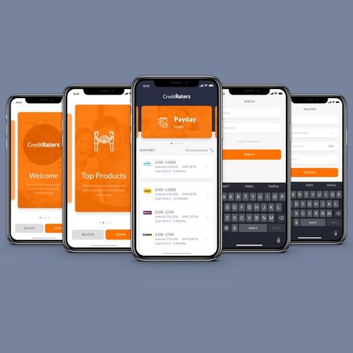 Loan Comparison App Design