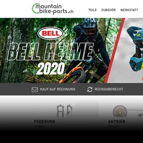 Motocross banner ad design