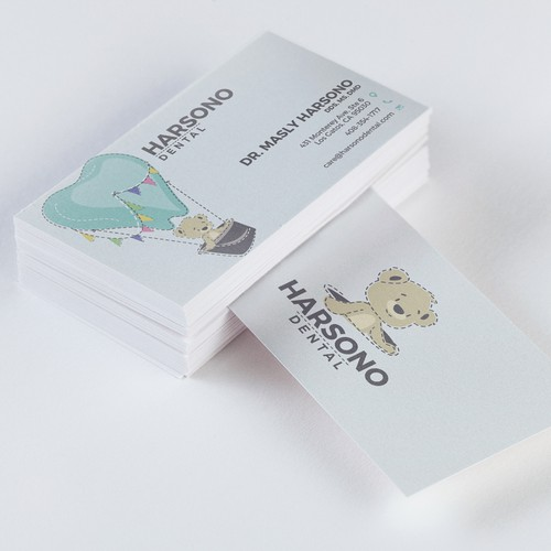 Identity / Business card design for Harsono Dental