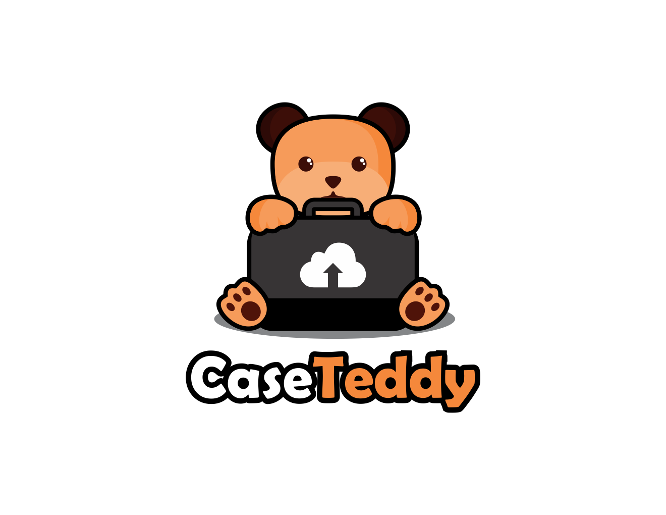 A Sincere, Kind Teddy Bear with his Trusty Case...