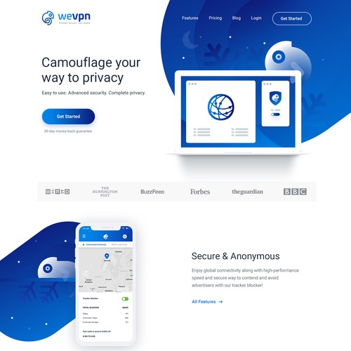 WeVPN Website