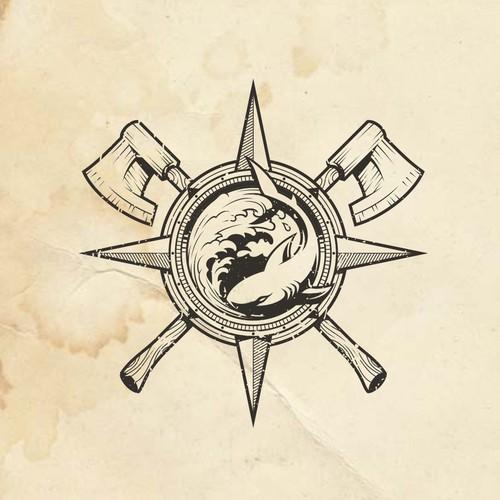Logo for Partners - Craftsman and Marine Biologist