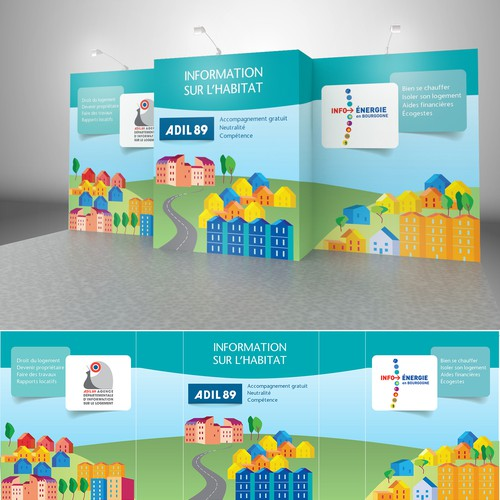 Trade Show Booth Design for non-profit organization