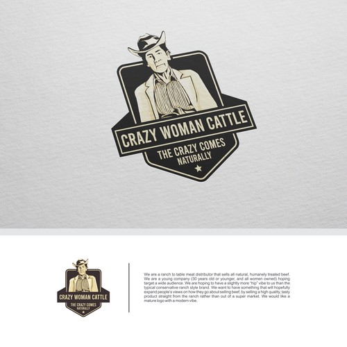 CRAZY WOMAN CATTLE