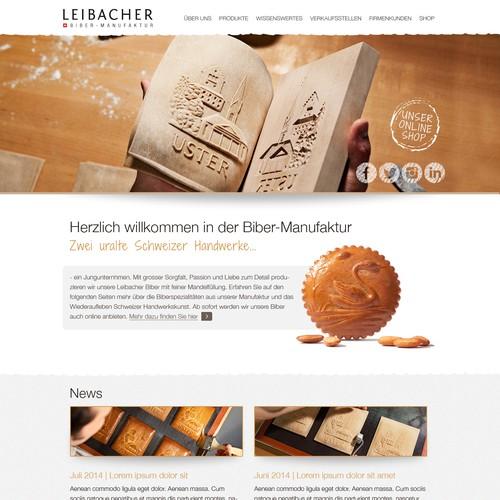 Webseite für Biber-Produzenten