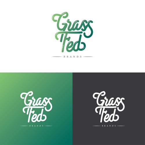 Grass Fed Logo Concept