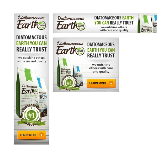 Banner Ads THAT ROCK for Ecommerce Company. I Give Lots Of Helpful Feedback.