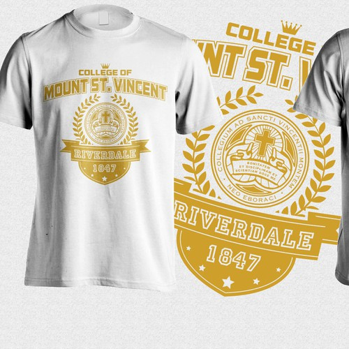 T-shirt design for incoming college Freshmen