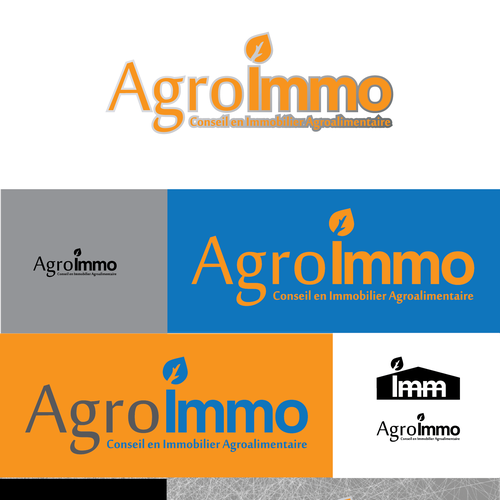 A great logo for a real estate Co. specialized in agrofood factories.