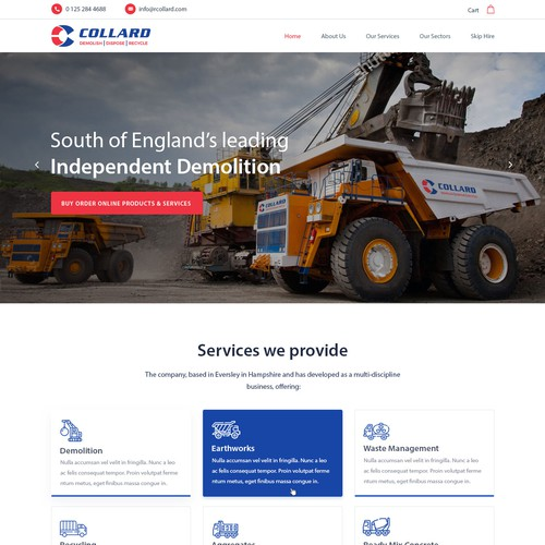 Website Design Collard Group