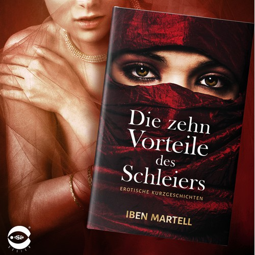 """Book cover for """"Die zehn Vorteile des Schleiers"""" by Iben Martell"""