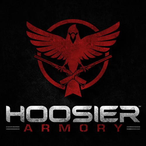 Logo design for Hoosier Armory
