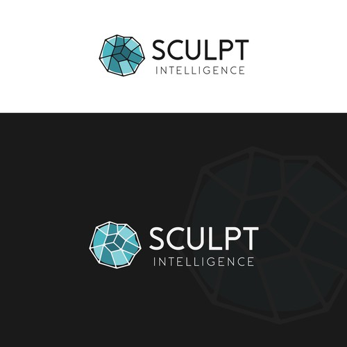 """Sophisticated & Abstract logo design for """"Sculpt Intelligence"""""""
