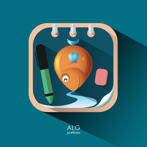 Icon for Fishing Notes App