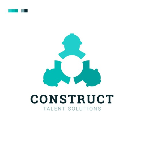 "Logo Design for ""Construction Talent Solution"""