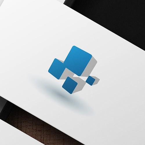 Modern logo for a tech company