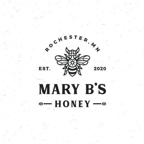 Viking Bee for Mary B's Apiary